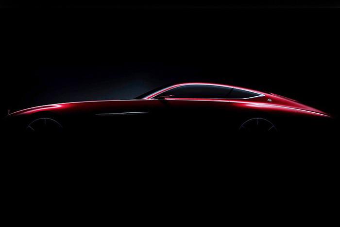 Mercedes-Benz представил тизер нового купе Maybach