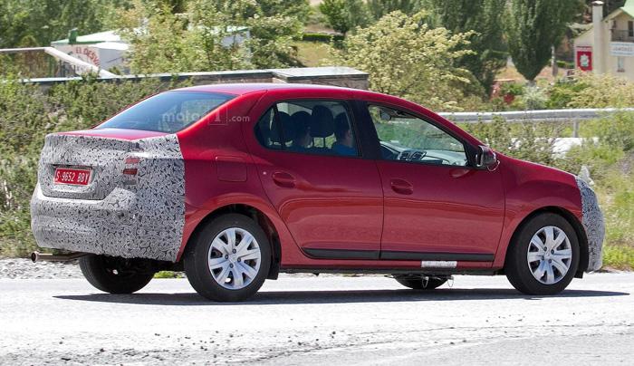 Обновленный Dacia Logan