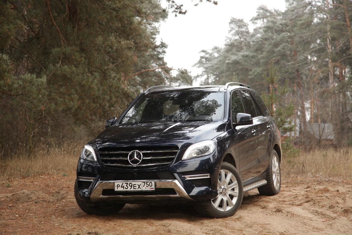Mercedes-Benz ML 400: 333 удовольствия