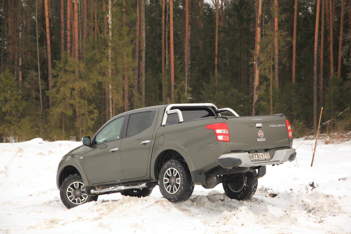 Fiat Fullback: Все познается в сравнении
