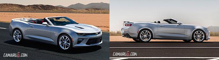 кабриолет Chevrolet Camaro