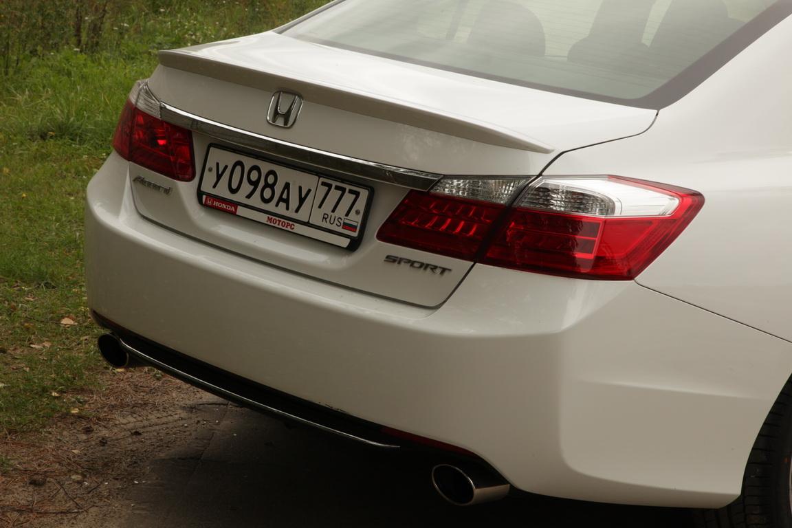 Honda Accord: спортивный настрой
