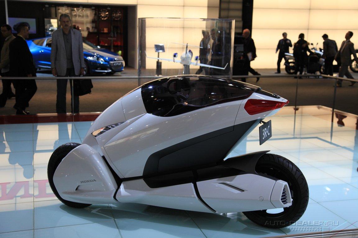 Honda на Парижском автосалоне