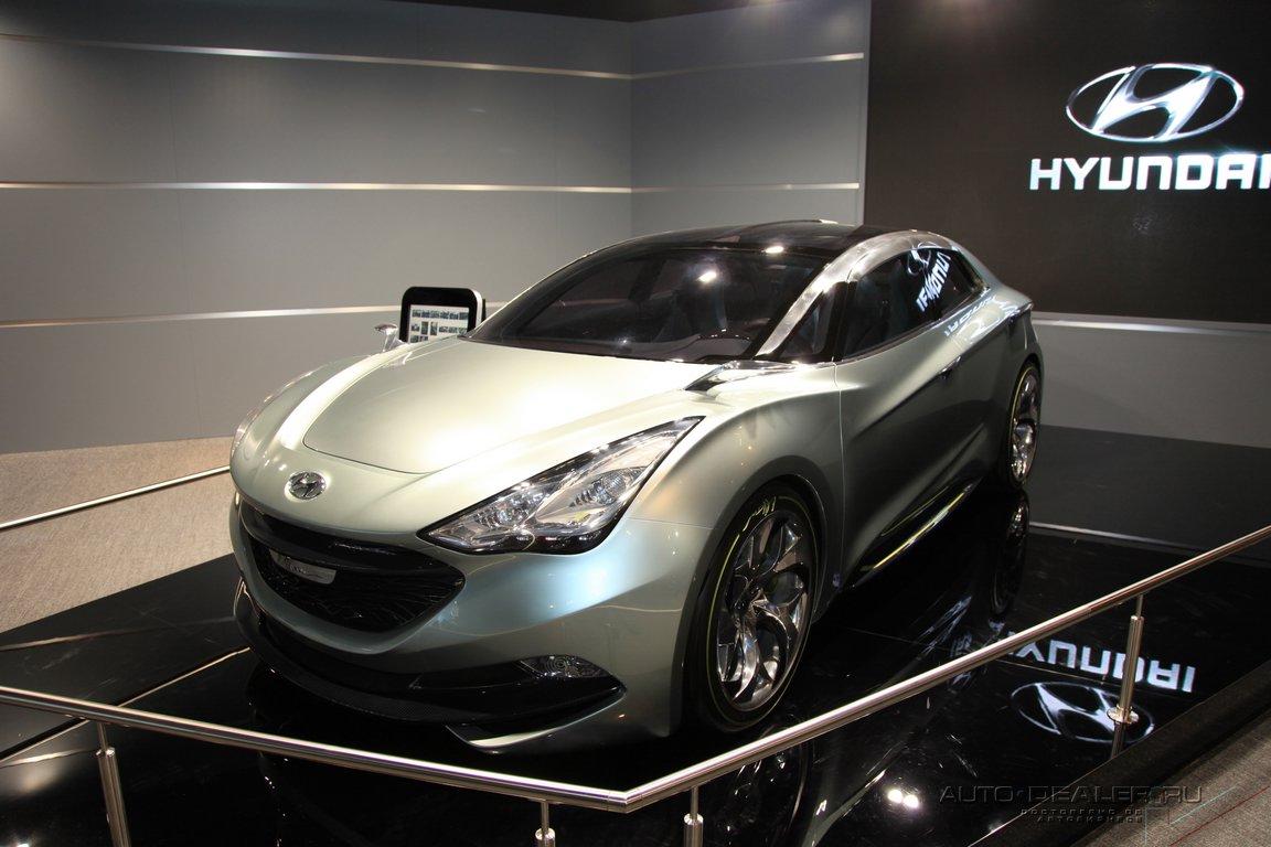 Hyundai на Парижском автосалоне