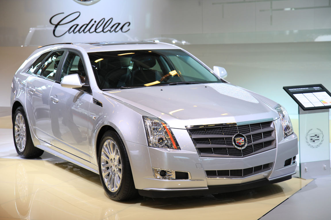 Cadillac на Парижском автосалоне 2010