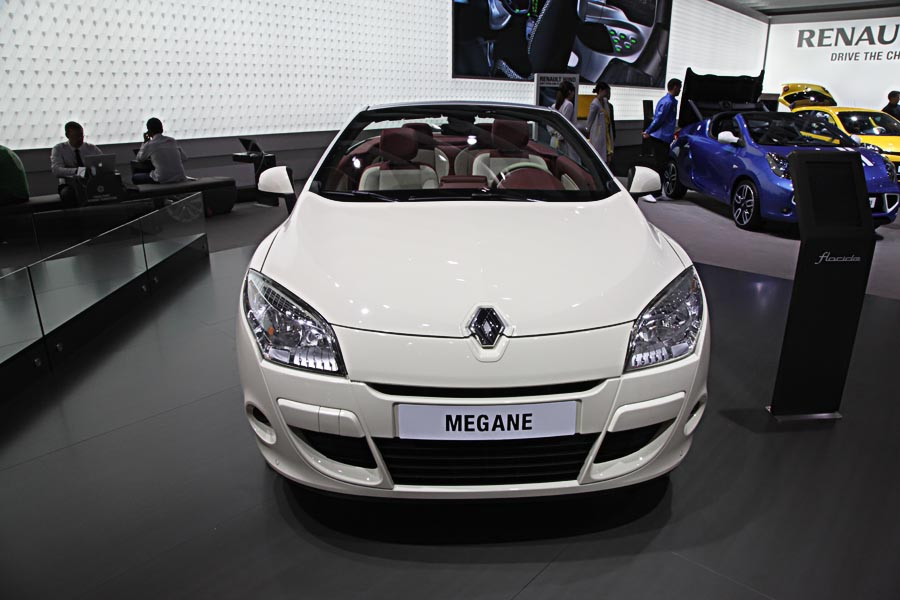 Renault на автосалоне во Франкфурте 2011