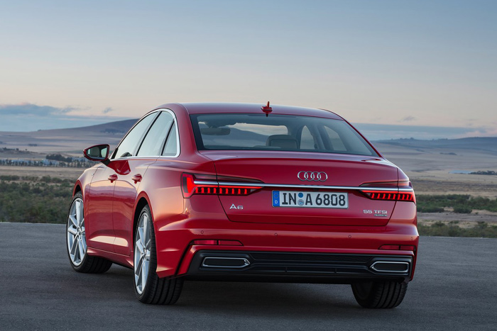 Audi представила новую модель седана A6