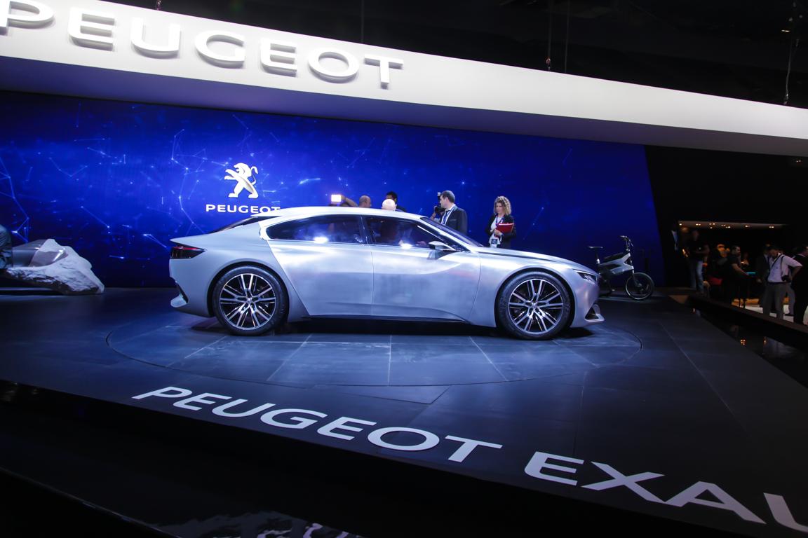 Peugeot Exalt Concept 2014