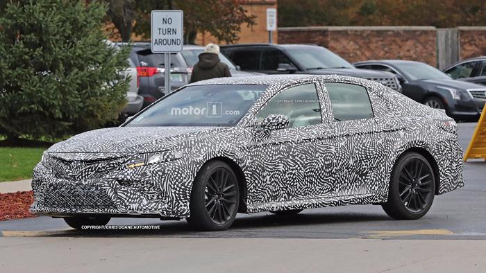 Стала известна дополнительная информация о новоиспеченной Тойота Camry