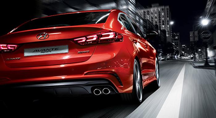 Hyundai Avante Sport