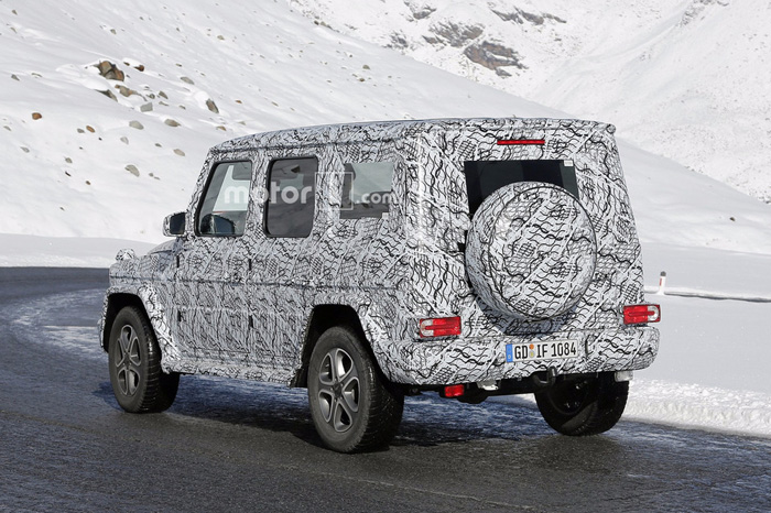 Новый Mercedes Gelandewagen представят вконце будущего года