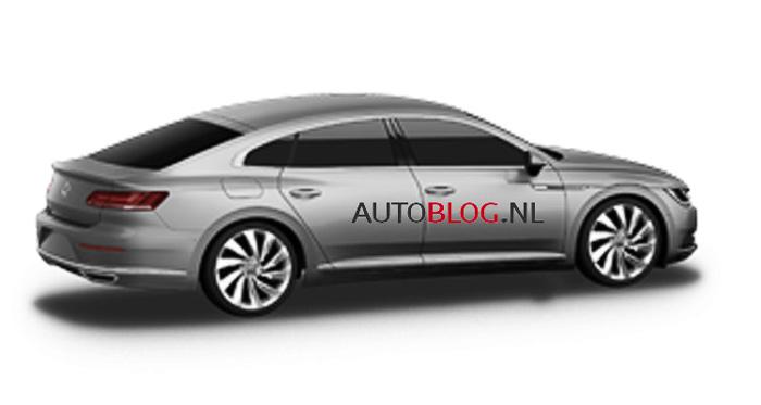 Вглобальной сети появилось первое фото нового VW CC2018