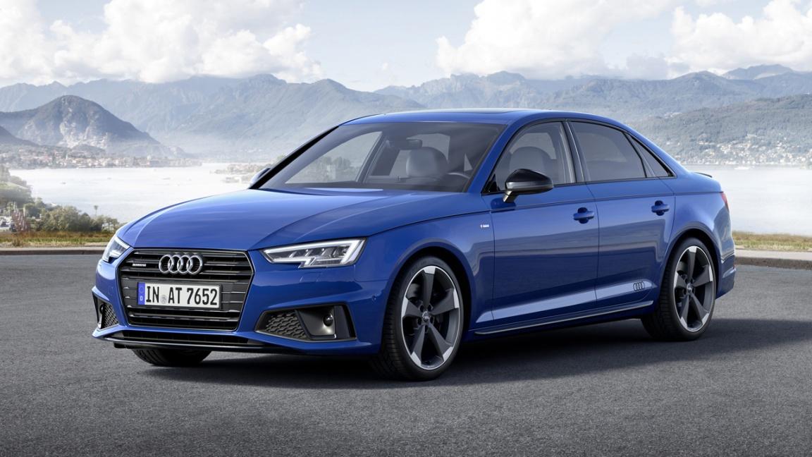 Фирма Audi представила обновлённые седан A4 и универсал A4 Avant
