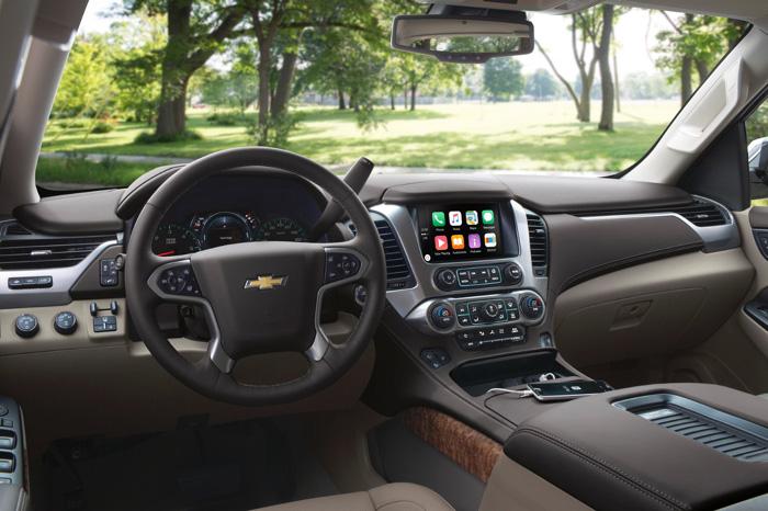 обновленный Chevrolet Tahoe