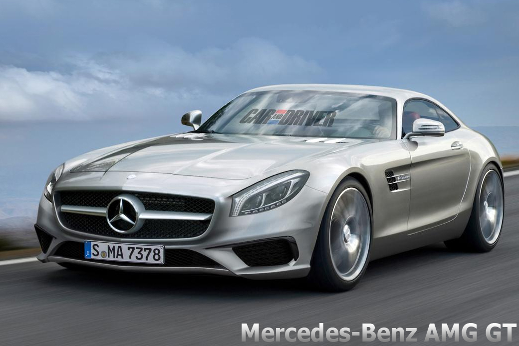 Mercedes-Benz AMG GT render