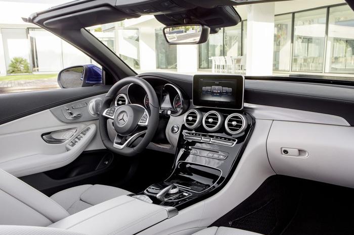 Кабриолет Mercedes-Benz C-Class