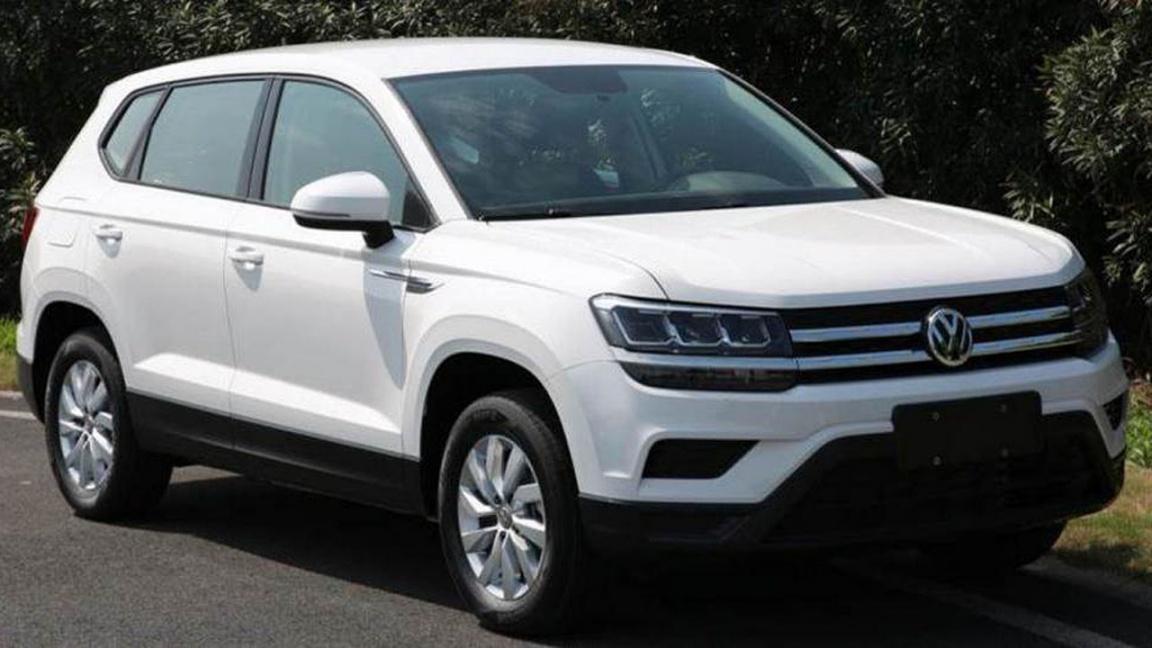 Первые фото серийного Volkswagen Tharu
