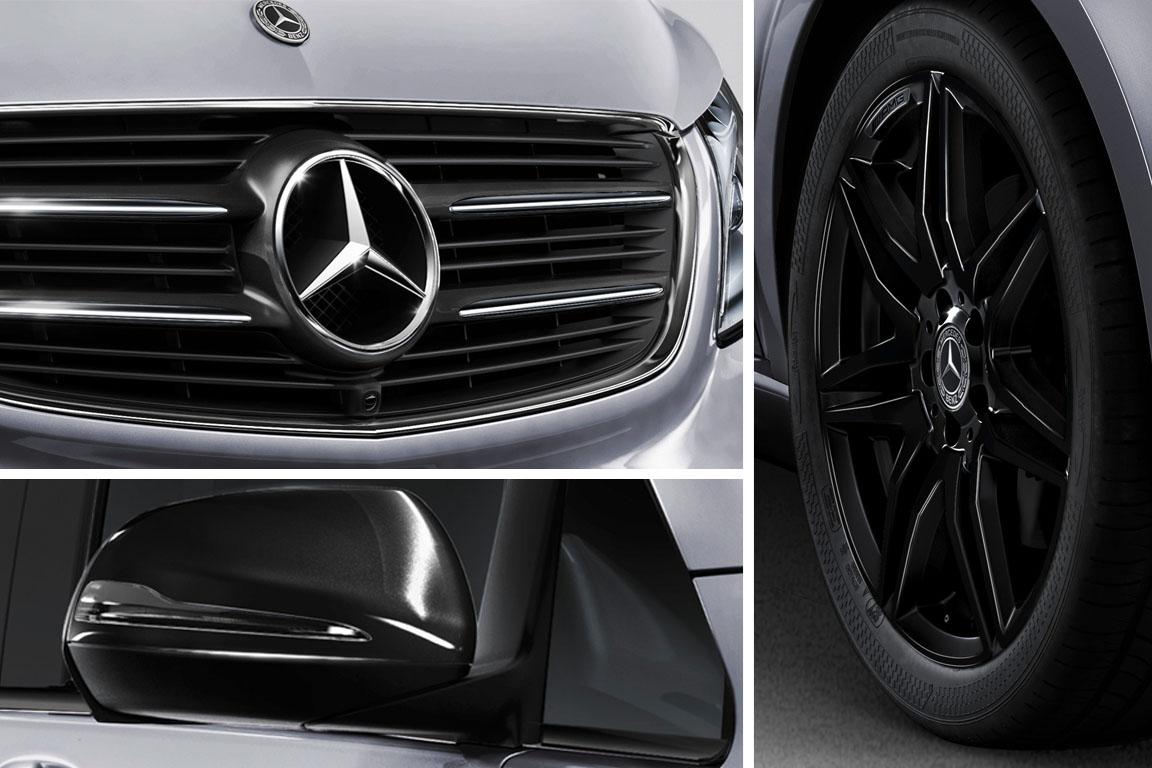 Mercedes-Benz V-class Night Edition