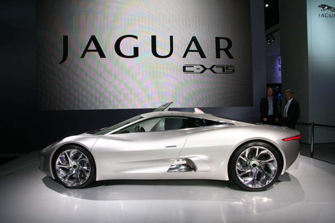 Jaguar на Парижском автосалоне