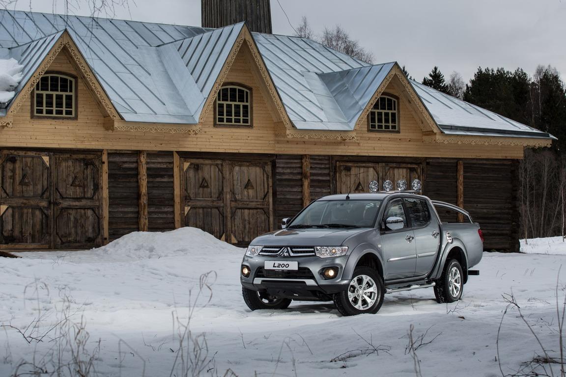 Mitsubishi L200: Весеннее обновление