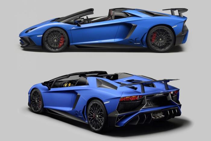 Lamborghini Aventador SV Roadster 2016