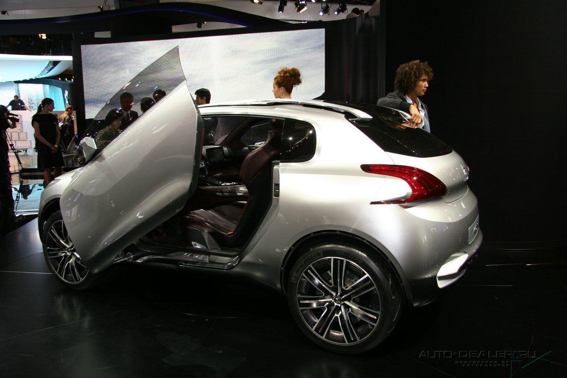 Peugeot на Парижском автосалоне
