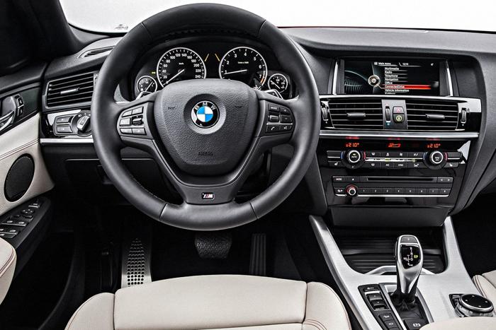 BMW X4 интерьер