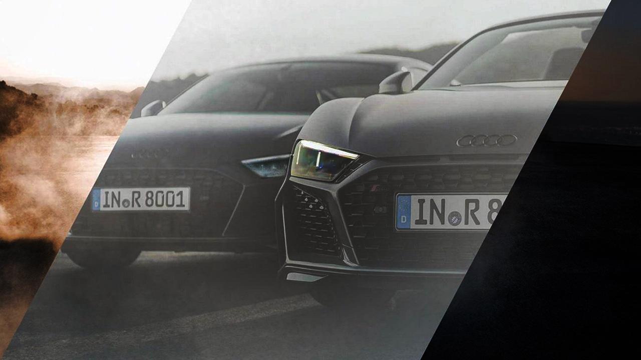 Обновленный Audi R8