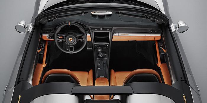 Porsche представила концепт 911 Speedster