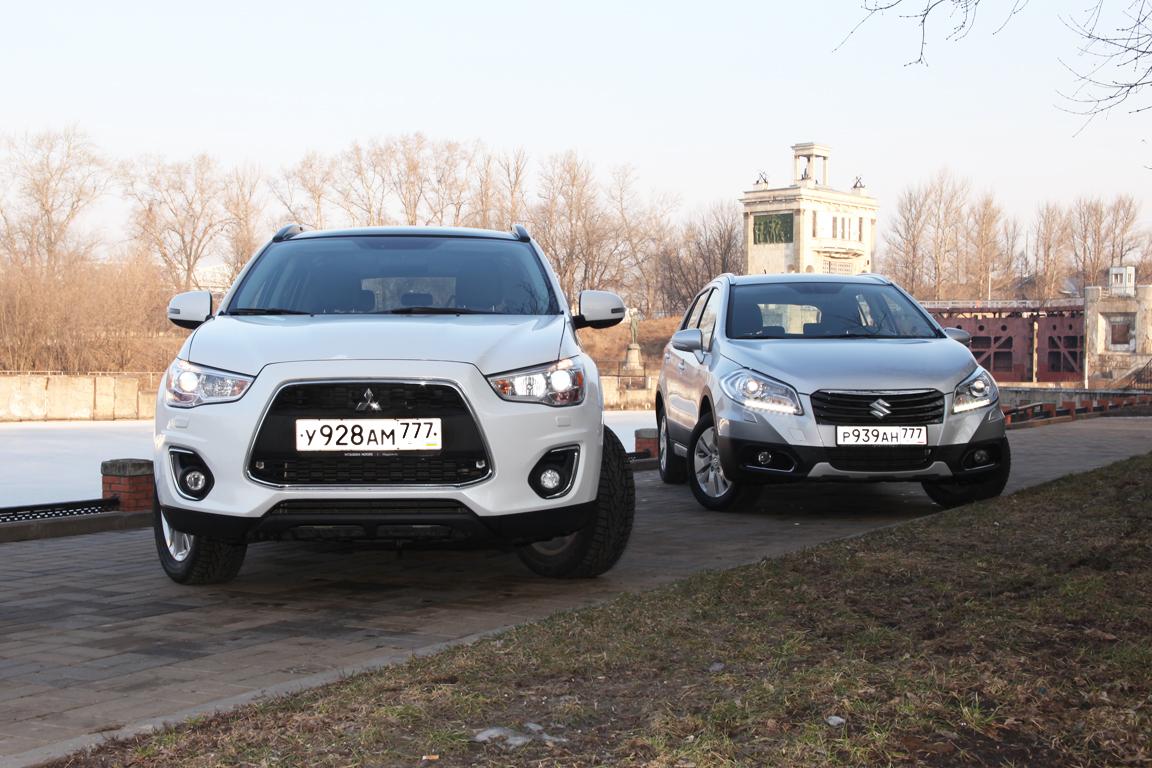 Suzuki SX4 vs Mitsubishi ASX