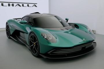 Дебютировал серийный супергибрид Aston Martin Valhalla