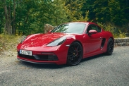 Porsche представила GTS-версии 718 Cayman и Boxter
