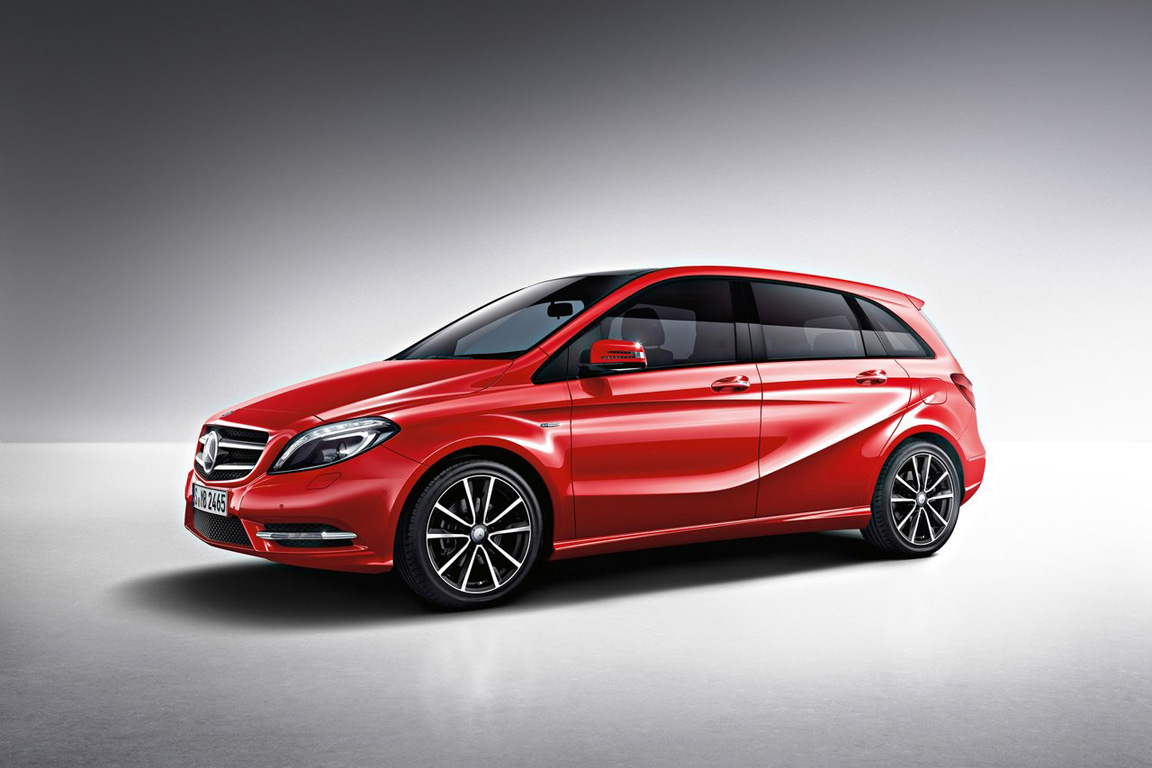 Mercedes-Benz B-Class / Мерседес-Бенц Б-Класс