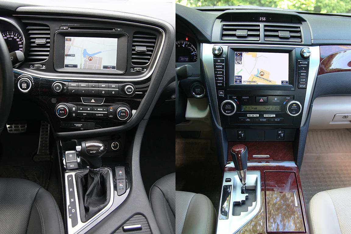 Kia Optima vs Toyota Camry: Для себя или для того парня