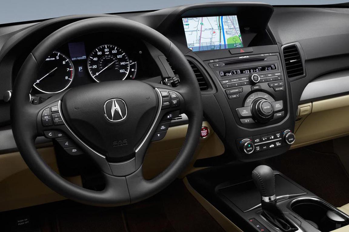 Acura RDX: Маленький озорник