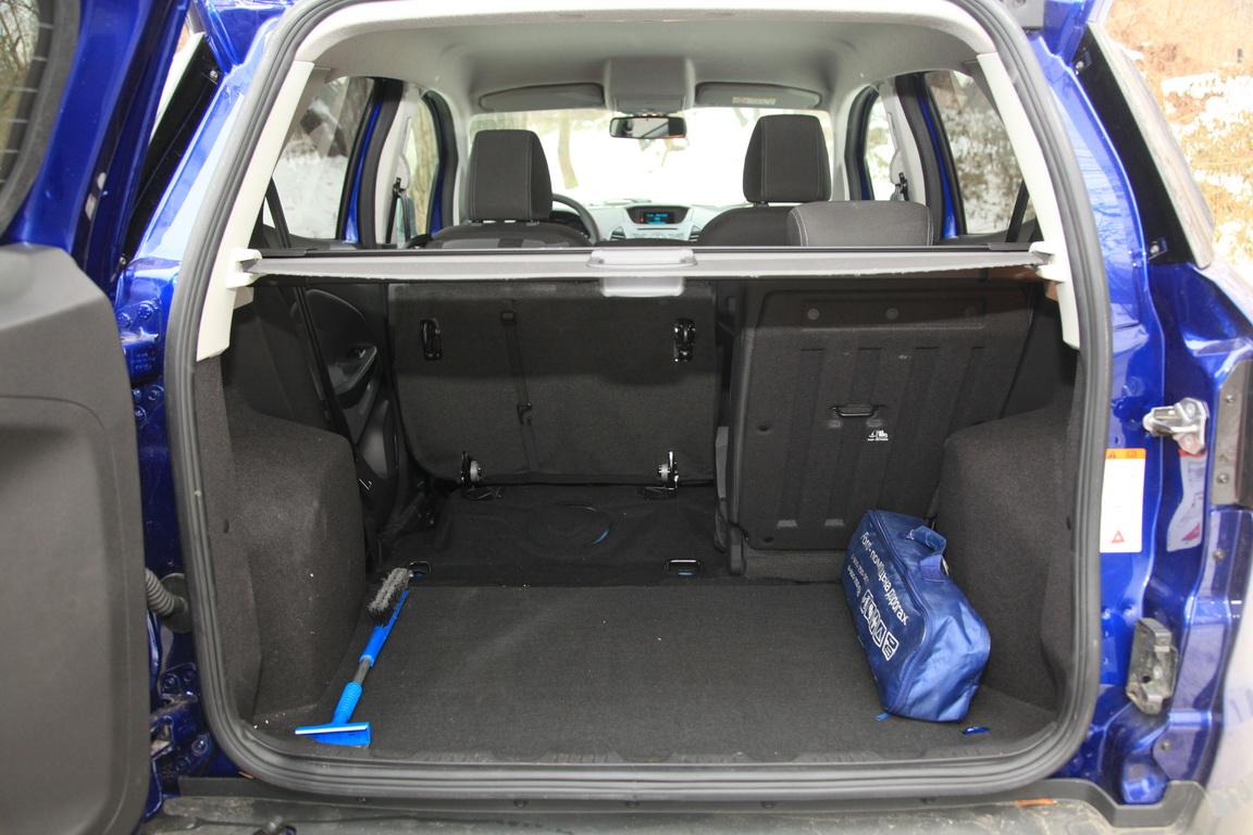 Ford EcoSport Багажник