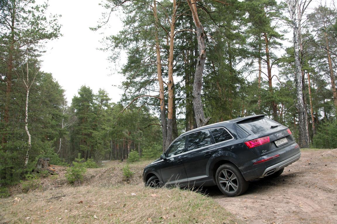 Audi Q7: Привыкаем жить комфортно