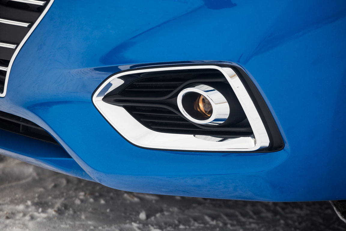 Hyundai Solaris противотуманки