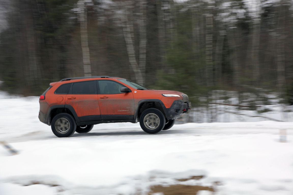 Jeep Cherokee Trailhawk: Больше, чем просто кроссовер