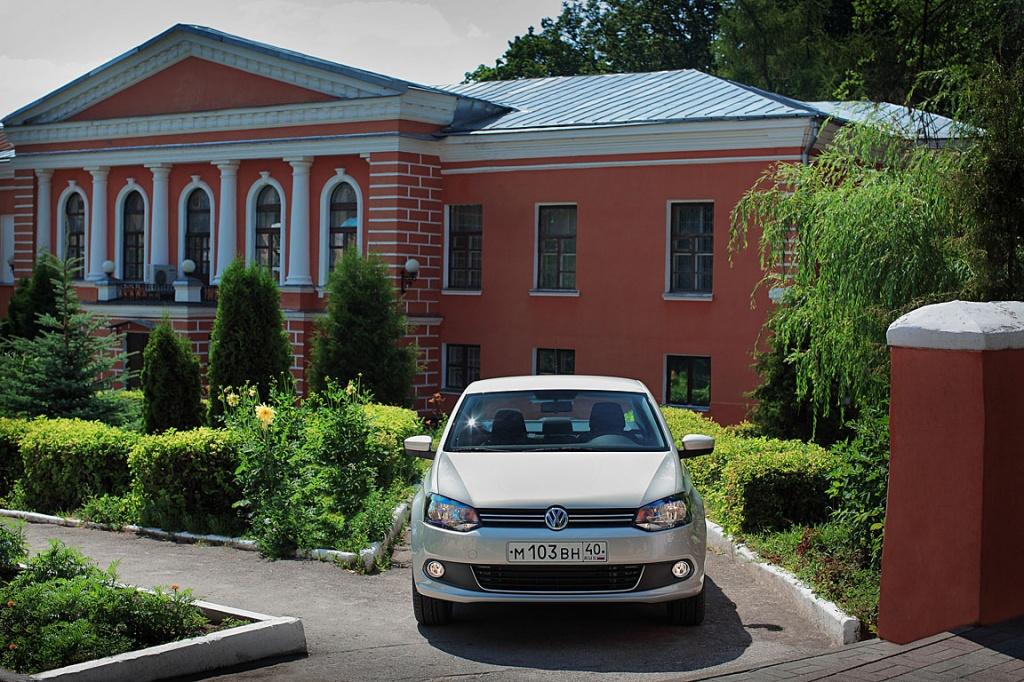 Volkswagen Polo Sedan: Сделано в России