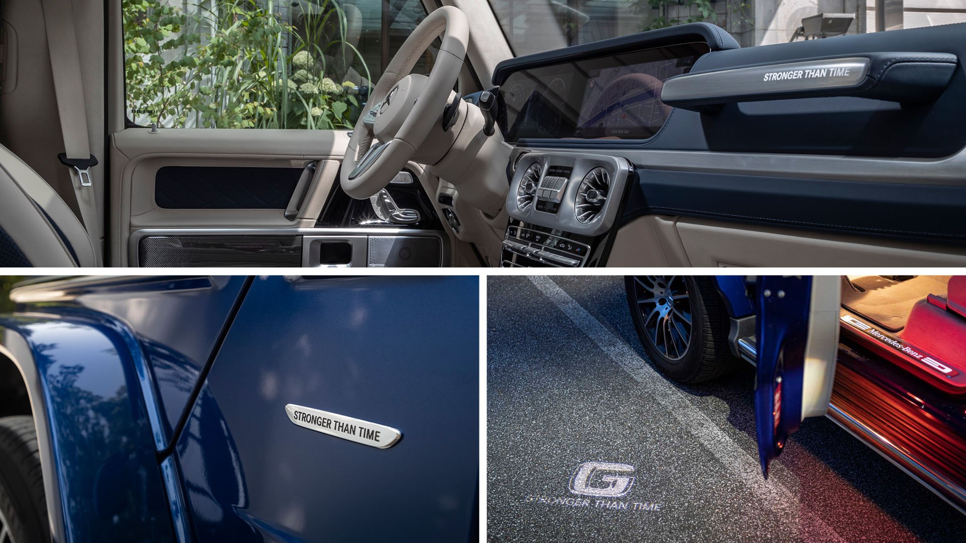 Mercedes-Benz G-class Gelandewagen Stronger Than Time