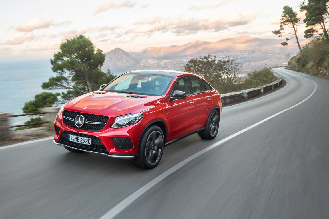 Mercedes-Benz GLE coupe 2015