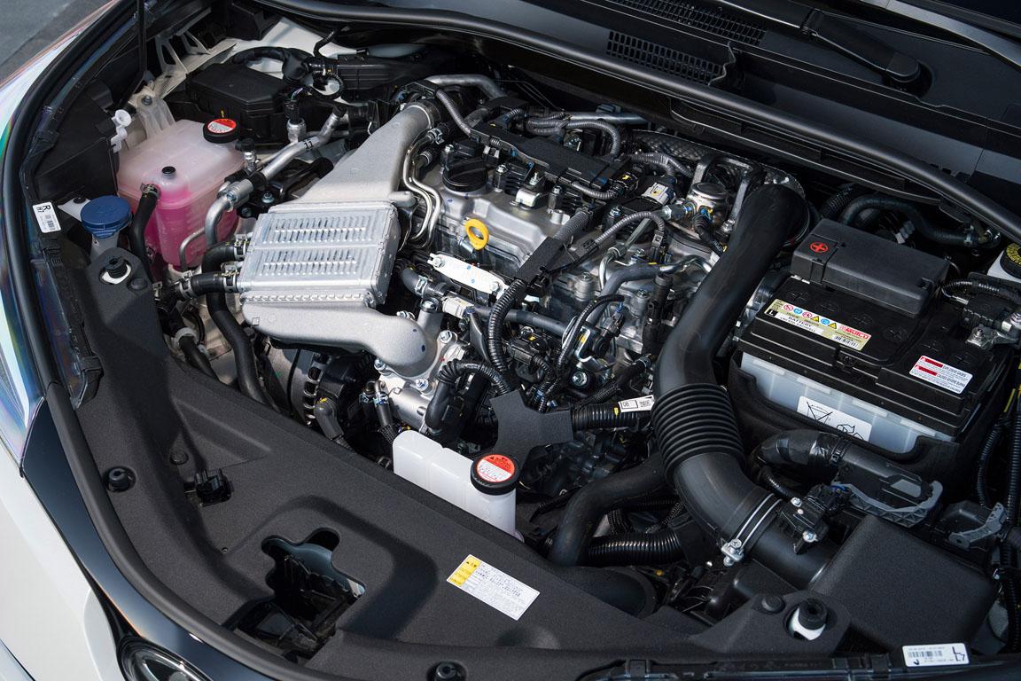 Toyota C-RH 2017 Двигатель