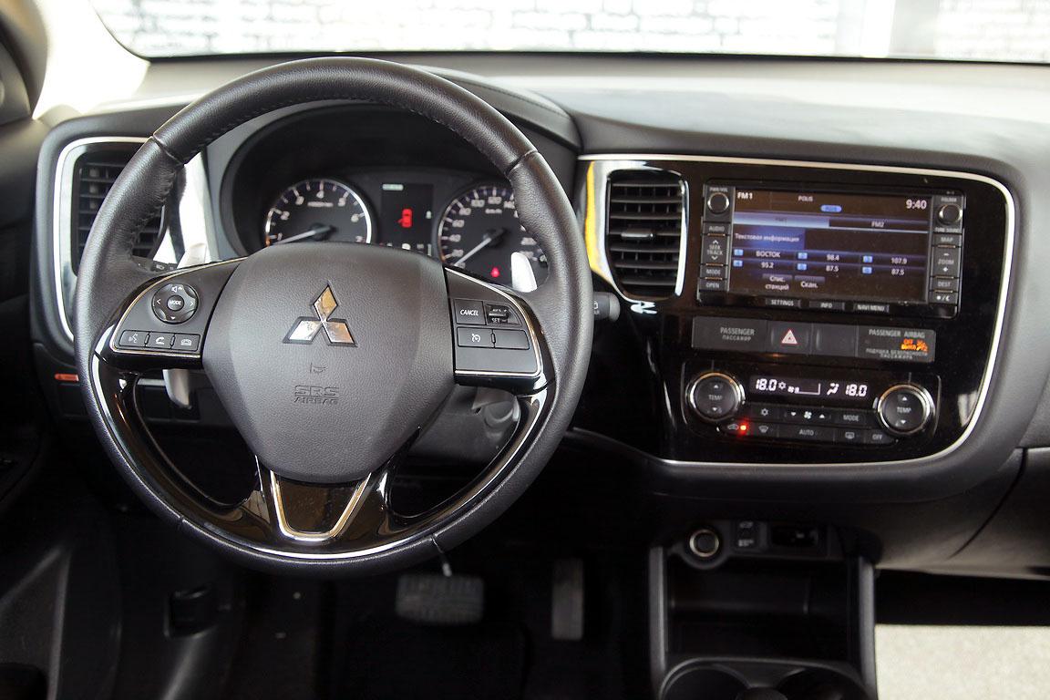 Mitsubishi Outlander: На хозяйстве