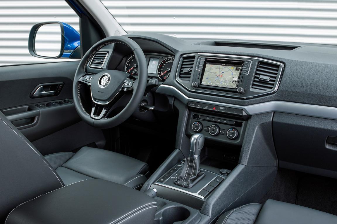 Volkswagen Amarok 2017 Салон