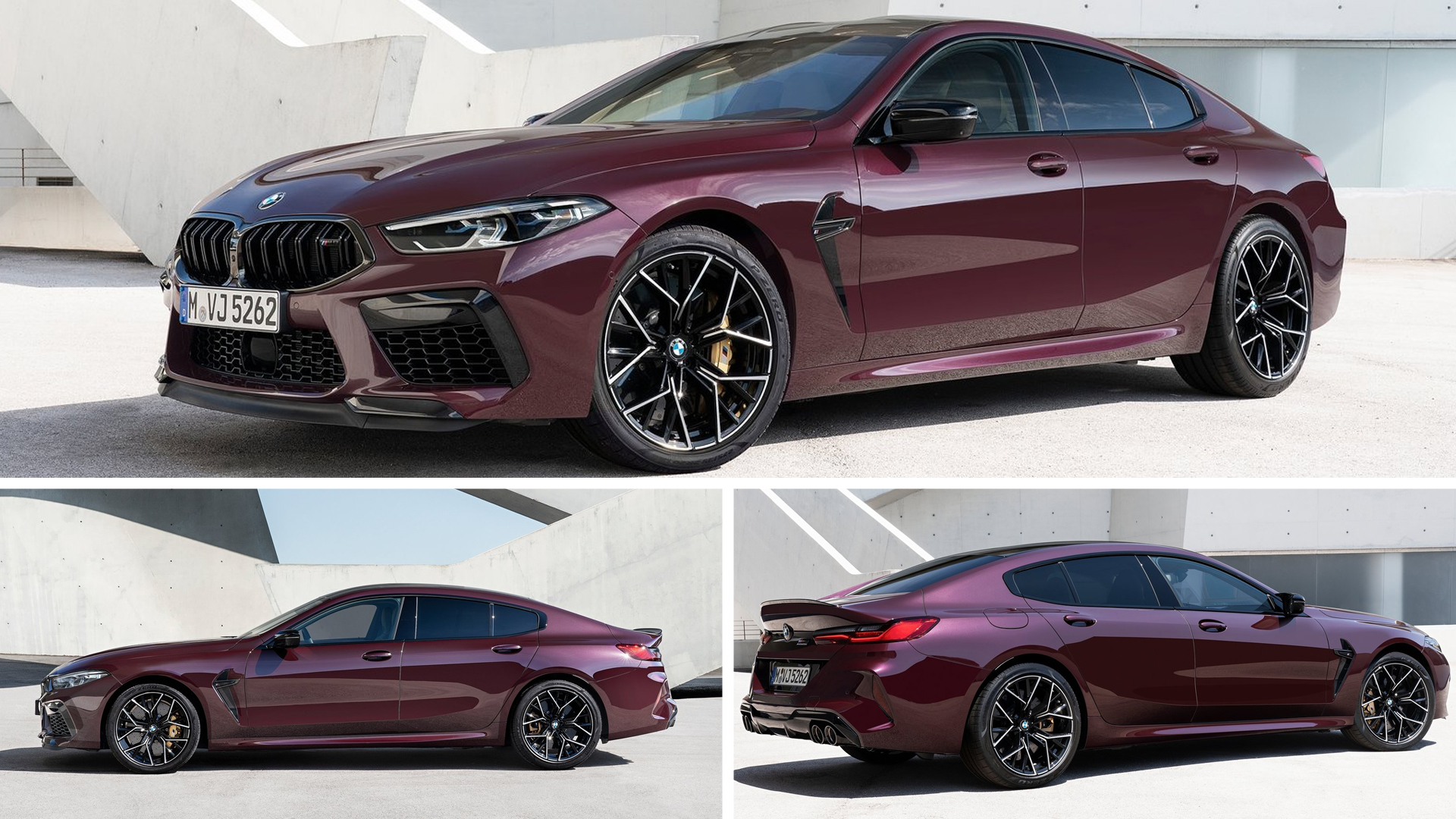 BMW M8 Gran Coupe Competition