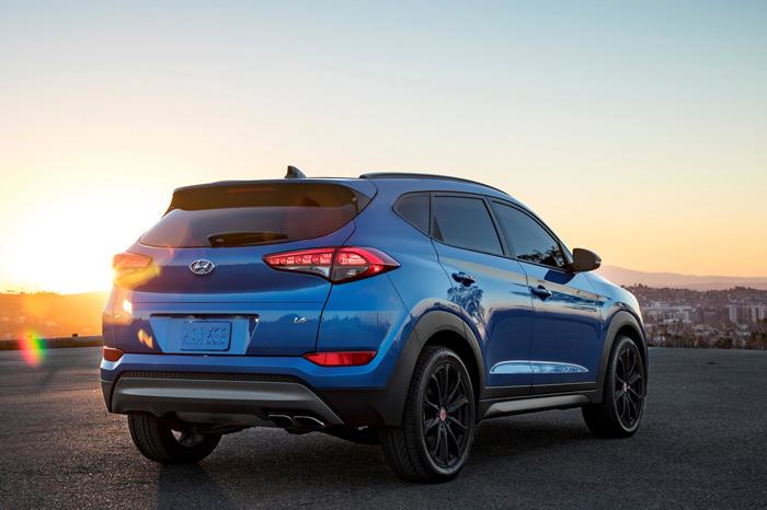 Hyundai Tucson Sport Night