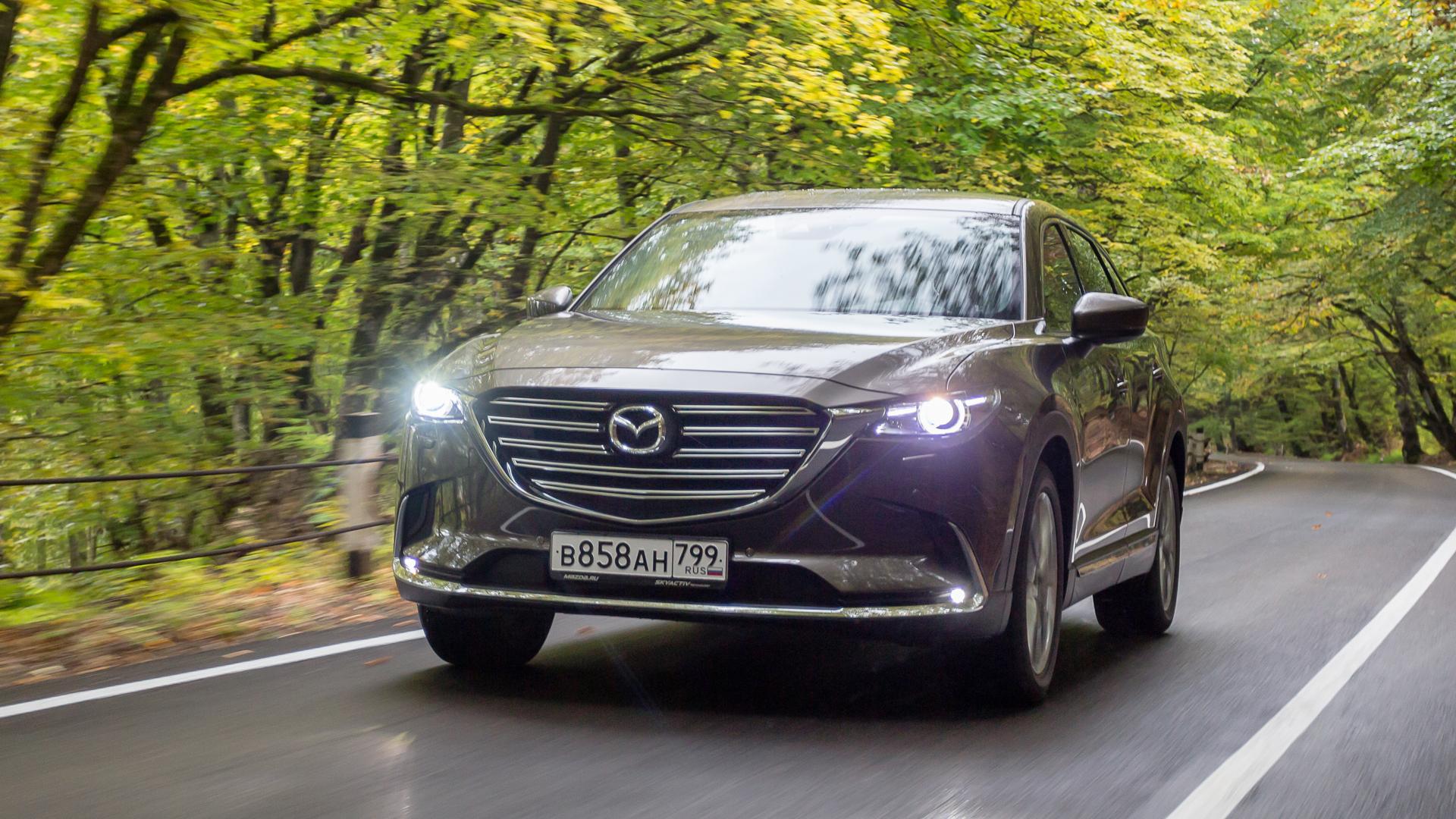 Тест-драйв Mazda CX-9 2019: Главное — внутри