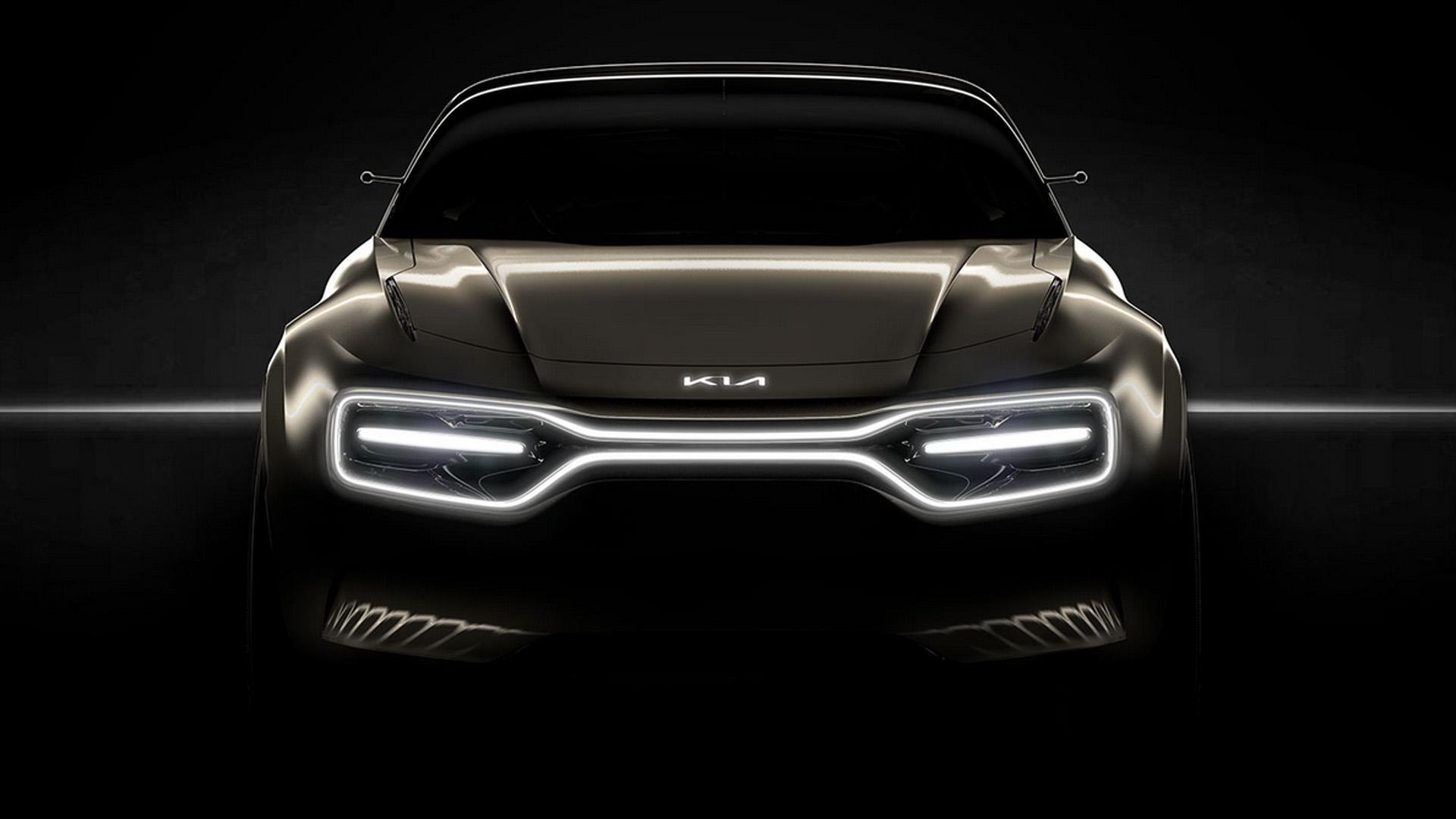 Kia концепт электромобиля