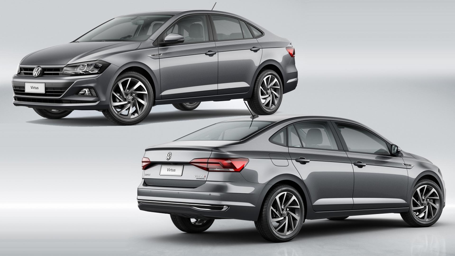 Volkswagen Virtus / Polo седан 2019